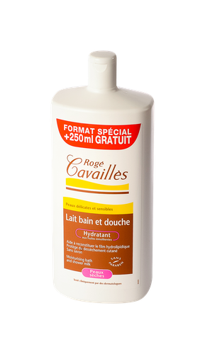 CAVAILLES LAIT BAIN/DCH HYDR 1L