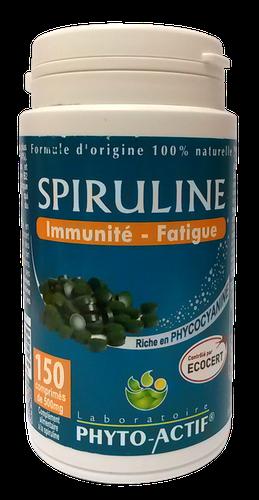 Phyto-actif SPIRULINE 500mg (150 comprimés)