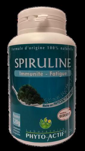 Phyto-actif SPIRULINE poudre 120g
