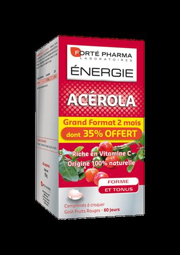 ACEROLA FORTE ENERGIE 60 CPR CROQUER