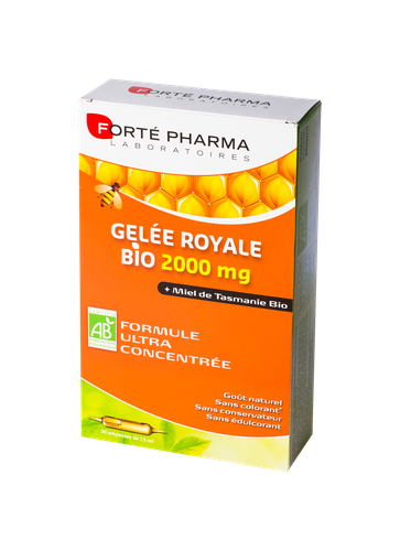 GELEE ROYALE BIO 2000MG 20 AMPOULES
