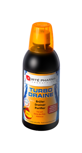 TURBODRAINE THE PECHE 500ML