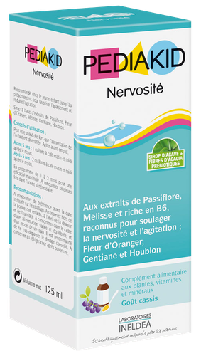 PEDIAKID NERVOSITE SP 125ML