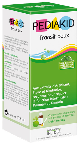 PEDIAKID TRANSIT DOUX SP 125ML