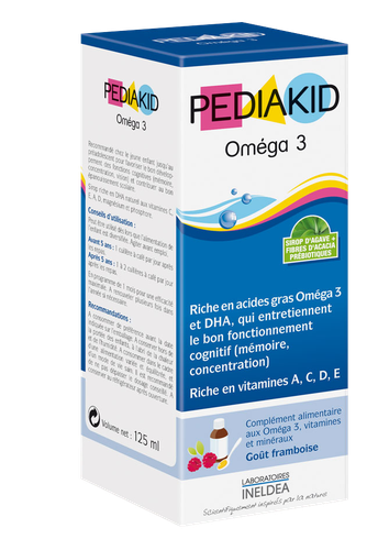 PEDIAKID OMEGA 3 SIROP125ML