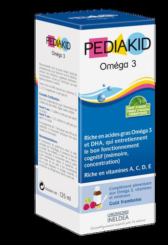 PEDIAKID OMEGA 3 SIROP125ML