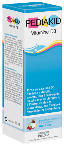 PEDIAKID VIT D3 GTT BUV 20ML