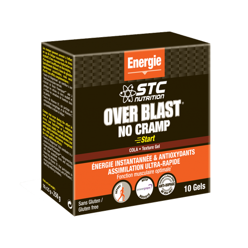 STC Nutrition GEL OVER BLAST NO CRAMP START COLA 25g (à l'unité)