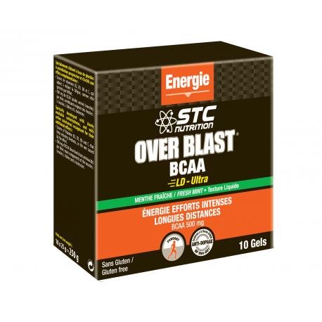 STC Nutrition GEL OVER BLAST BCAA ULTRA MENTHE FRAICHE 25g (à l'unité)