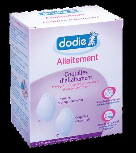 DODIE COQUILLE D'ALLAITEMENT SILICONE BOITE DE 4