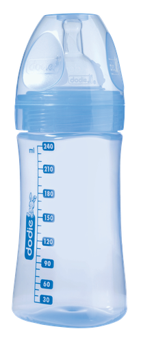 DODIE BIBERON INITIATION+ 2 VITESSES BLEU 240ML
