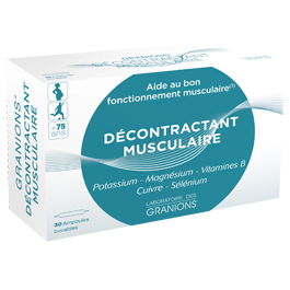 GRANION DECONTRACTANT MUSCULAIRE AMPOULE 2ML30