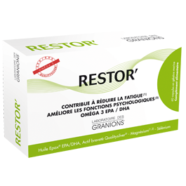 RESTOR ANTI FATIGUE CAPSULES 60