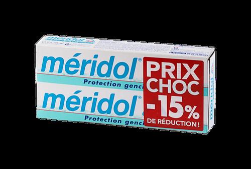 MERIDOL DENTIFRICE PACK 2X75ML