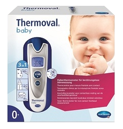 THERMOMETRE ELECRONIQUE THERMOVAL SANS CONTACT