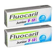 FLUOCARIL JUN7/12DENT BUBBLE GUM50MLx2