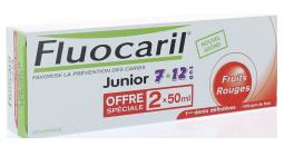 FLUOCARIL JUN7/12DENT FRUITS ROUGE 2X50ML