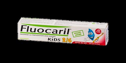 FLUOCARIL KIDS 2/6 ANS DENTIFRICE FRAISE