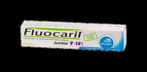 FLUOCARIL JUNIOR 7/12DENT BUBBL