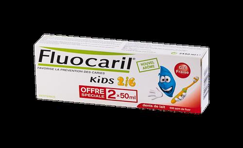 FLUOCARIL KID2/6 DENT FRAI50ML LOT2