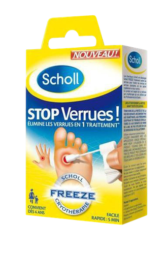 SCHOLL STOP VERRUES FREEZE 80ML