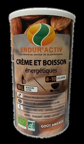 Endur'activ CREME ET BOISSON ENERGETIQUE AMANDE