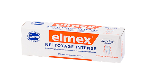 ELMEX DENTIFRICE NETTOYAGE INTENSE TUBE 50 ML