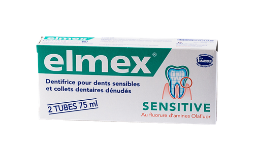 ELMEX SENSITIVE DENT PACK2X75ML