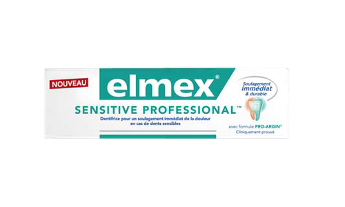 ELMEX DENTIFRICE SENSITIVE PROFESSIONAL 2X75ML